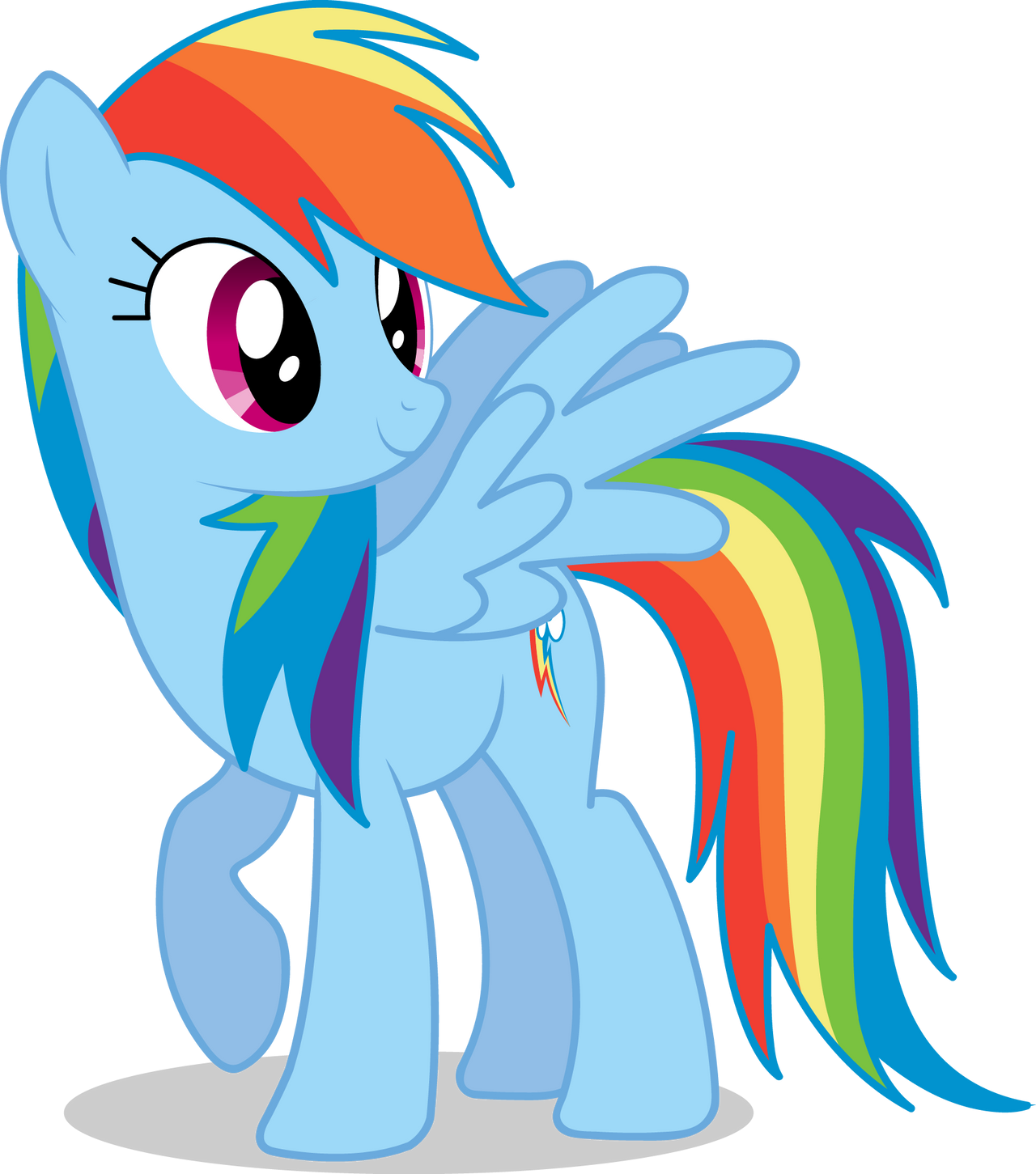 Image result for mlp rainbow dash