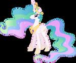 Princess Celestia Vector #01
