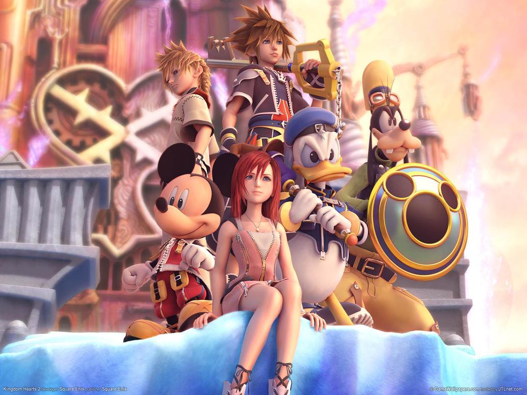 Kingdom Hearts wallpaper by TheKingdomHearts-FC