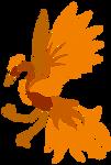Fire Bird by DragonNightArt
