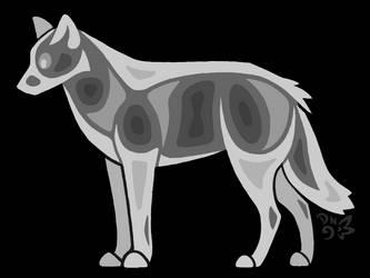 Little Wolf Concept Art by DragonNightArt