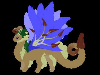 Flora Dragon by DragonNightArt