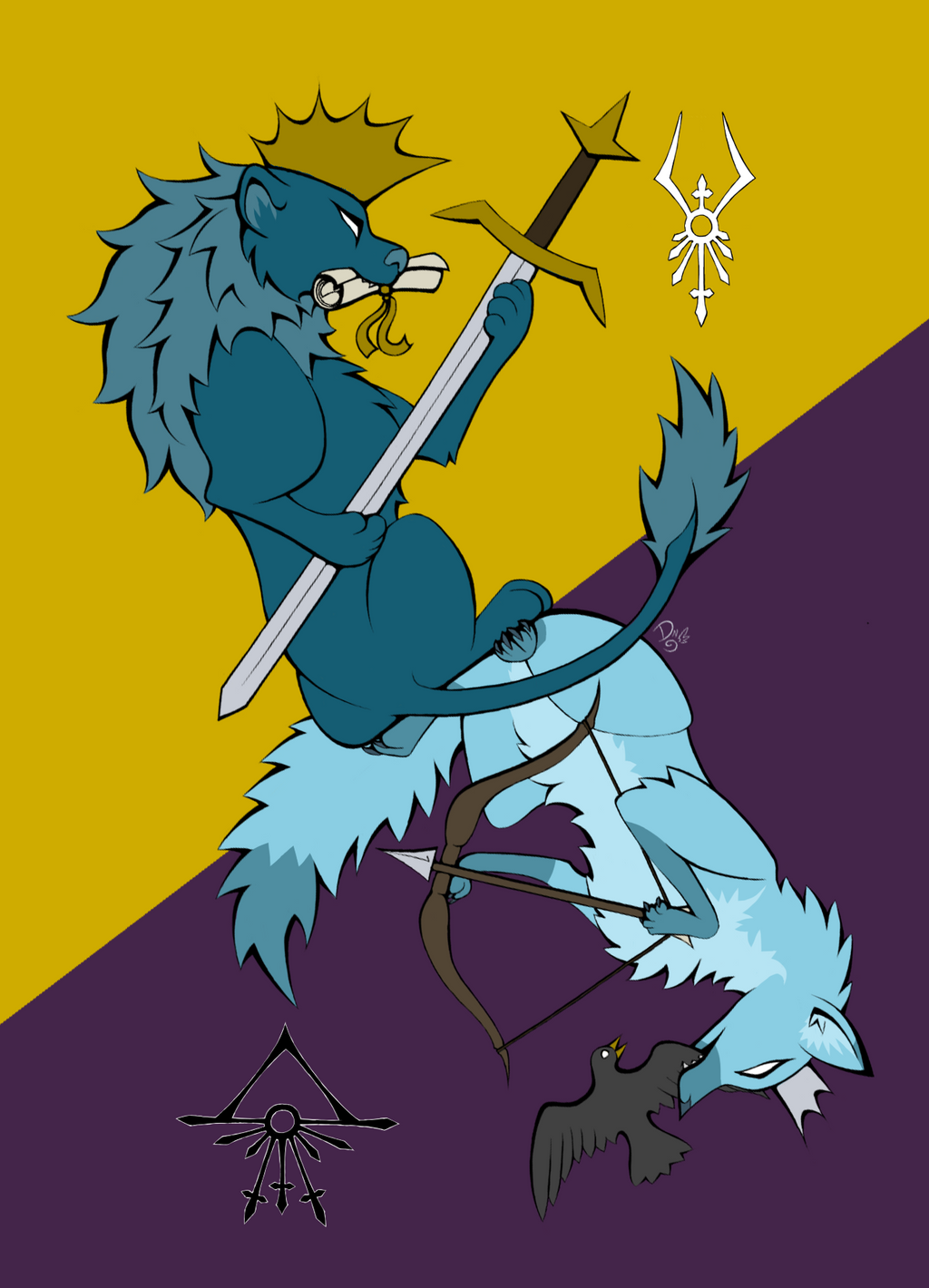 Revlan Royal Coat of Arms by DragonNightArt