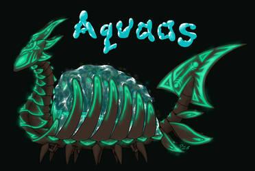 Aquaas by DragonNightArt