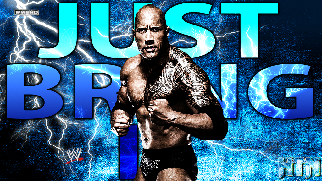 WWE The Rock YouTube Wallpaper HQ By HTN4ever
