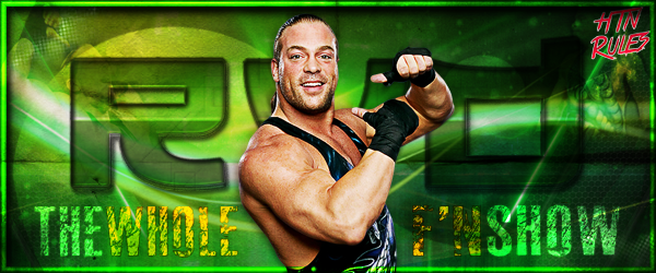 Wwe rob van dam rvd signature the whole f 39 n show by - Wwe rvd images ...