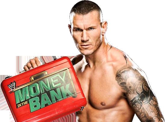 Randy Orton MITB Photomontage Randy Orton Money In The Bank 2014