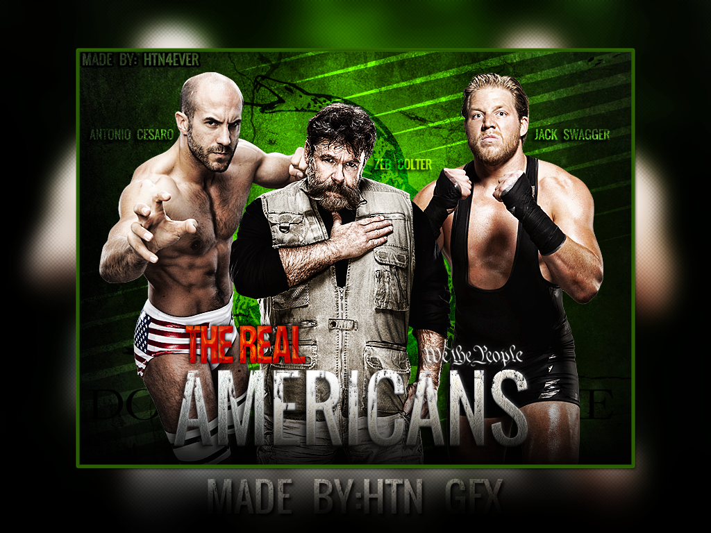 wwe real americans wallpaper we the people by htn4ever