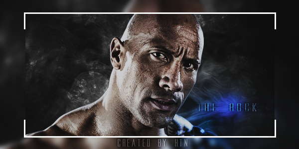 Dwayne 'The Rock' Johnson Signature by HTN4ever