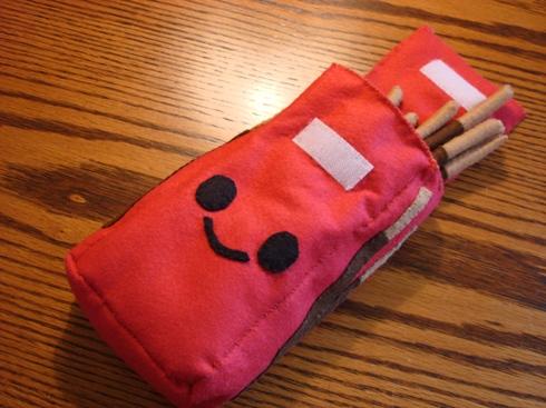 Pocky Box Plushie by HyperactivePanda