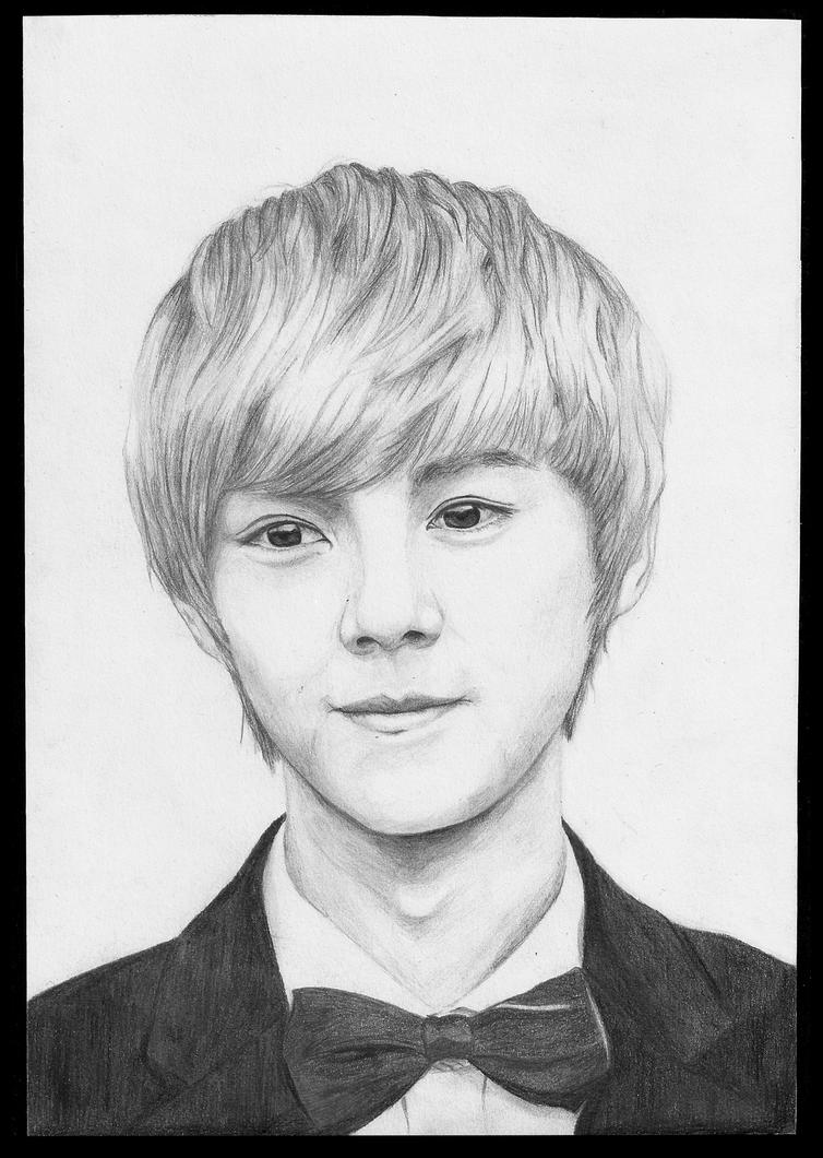 Realistic Portrait - Lu Han by SuikaSas