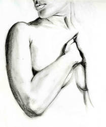 WIP figure study, chest... by deus0ex0machina