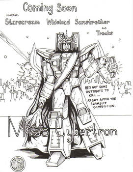 'Miss Cybertron' Movie Poster