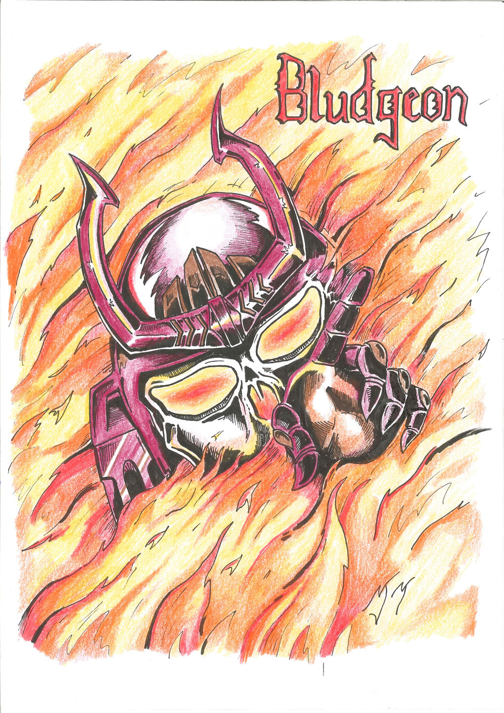 Bludgeon - Mercyful Fate Cover (colours)