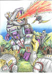 Dinobots Vs Trypticon colour