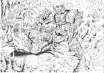 Scorponok vs Fortress Maximus