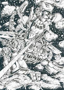 Sky Lynx in space