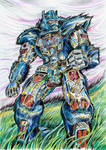 Optimus Primal - colour