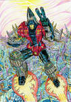Combiner Wars Skydive - colours