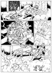The Coming of the Towers page 41 inks