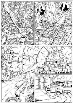 The Transmogrification Occurrance page 9 inks