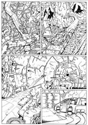 The Transmogrification Occurrance page 9 inks by JoeTeanby
