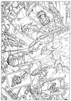 The Transmogrification Occurrence page 10 inks