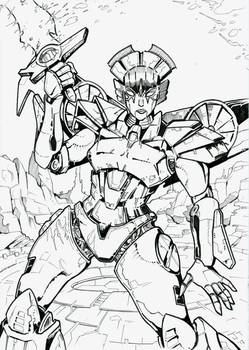 Forged to Fight Windblade