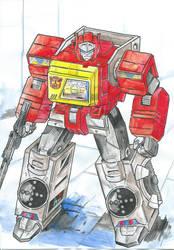 Titans Return Blaster
