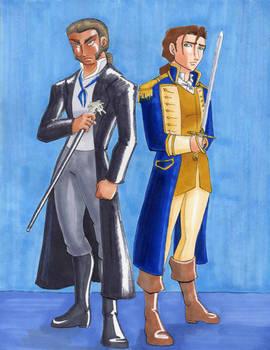 Roommates: Javert and James