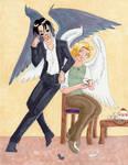 Roommates: Crowley and Azira