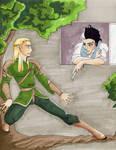 Roommates: Legolas and Sweeney