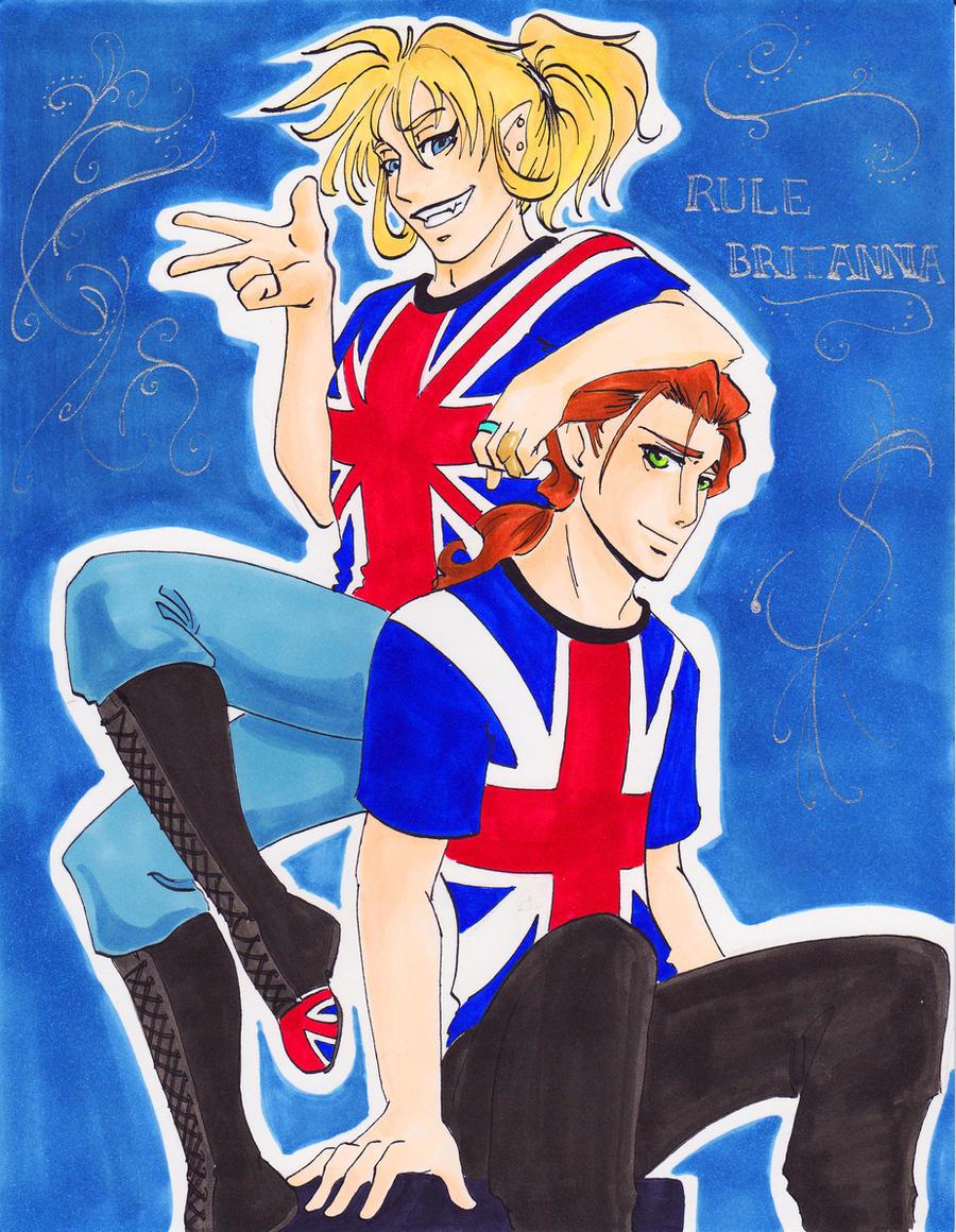 Roommates: Rule Britannia by AsheRhyder