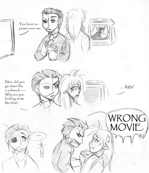Wrong Movie by AsheRhyder