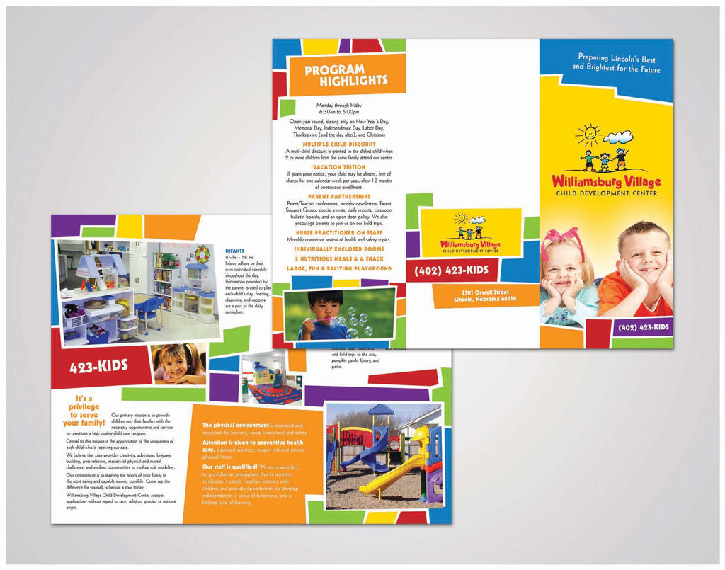 Free Printable Brochure Templates For Kids