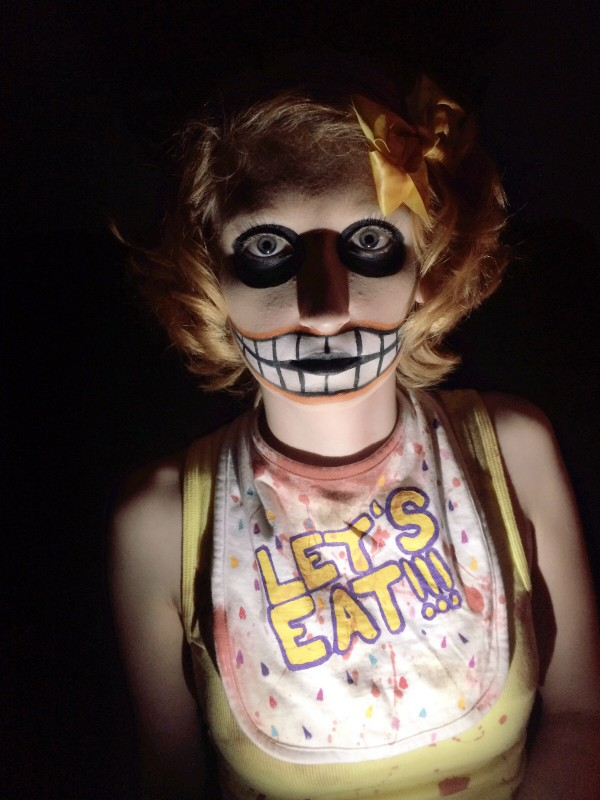 Chica Makeup Test by Melodious-Angel