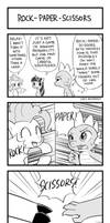 MLP 4koma Page 4: Rock-Paper-Scissors