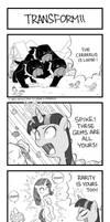 MLP 4koma Page 5: Transform!!