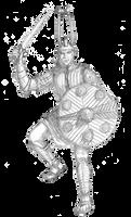 Nuragic Warrior redone