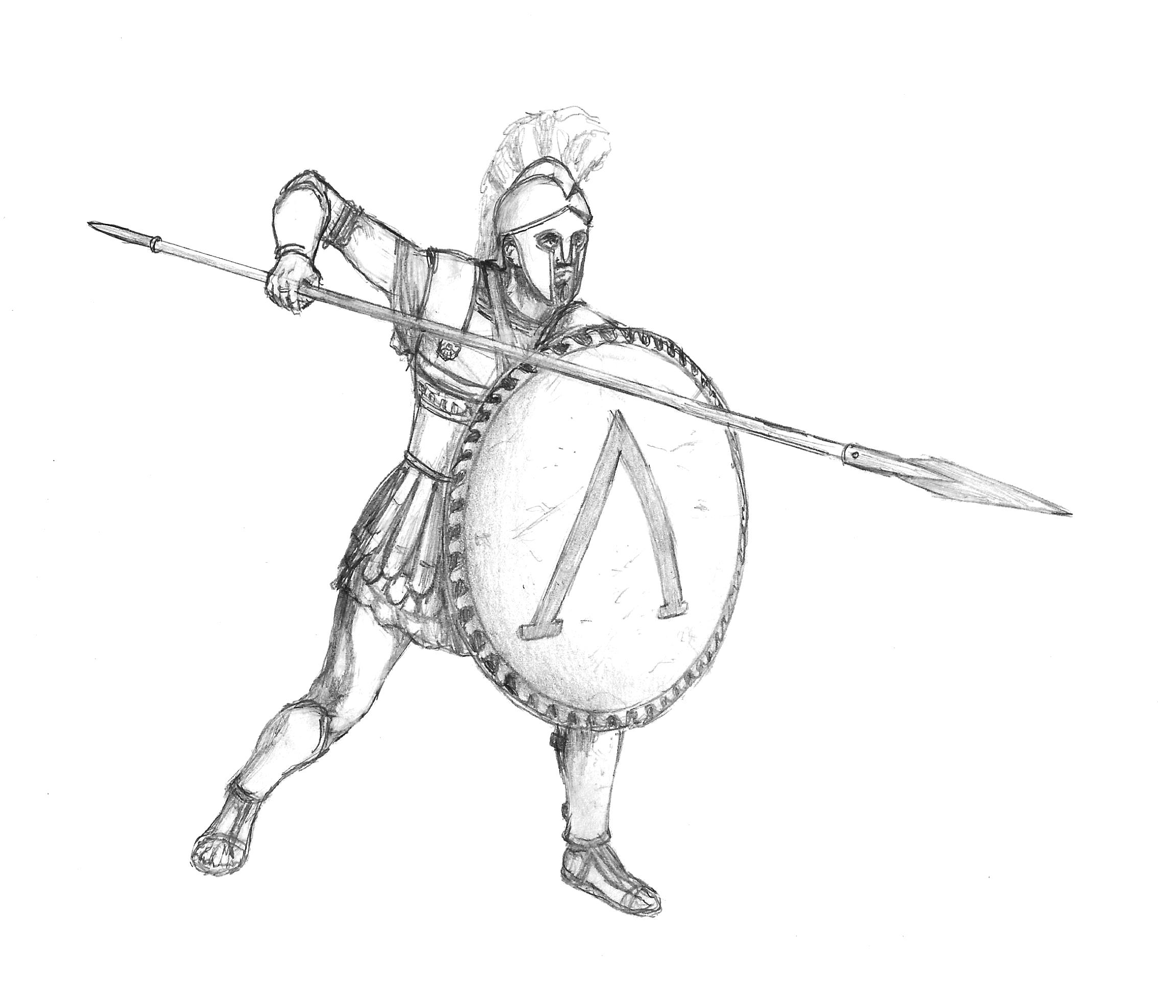 Spartan Hoplite By B4ld3r On Deviantart