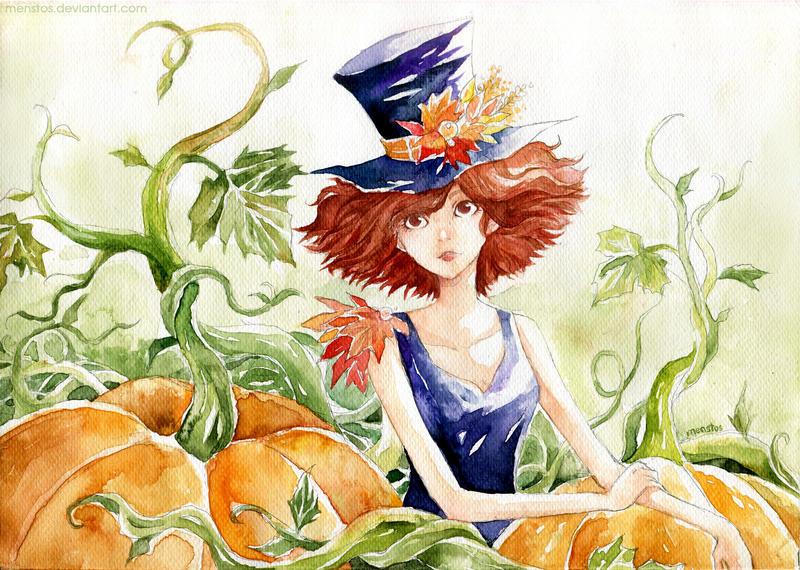 Pumpkin Garden by Menstos