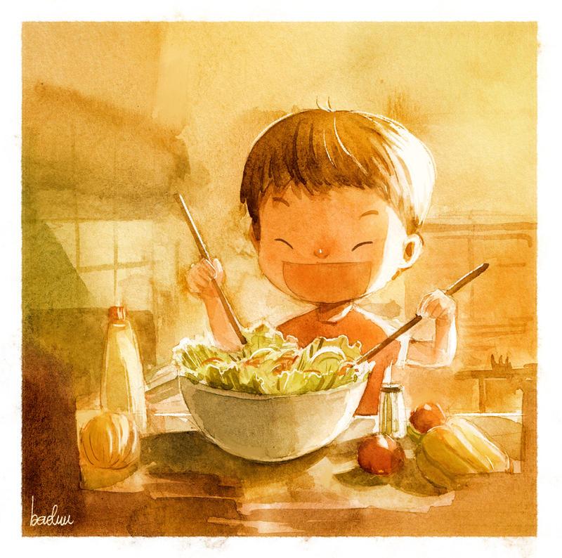 Salad by Menstos