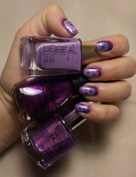 Purple Rose by kwsapphire