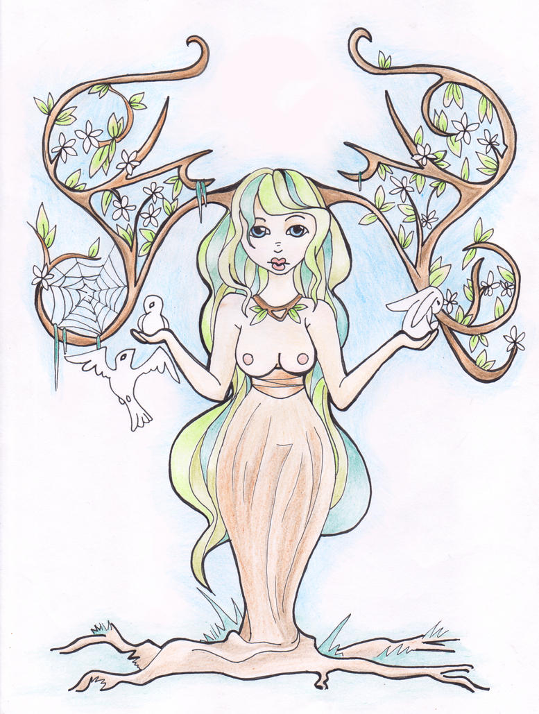 Mother Nature by Iria-DeTude