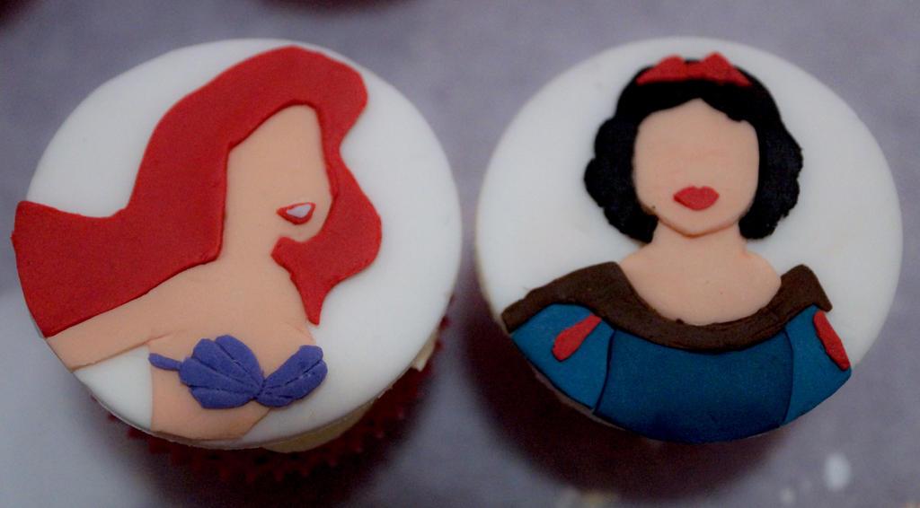 Disney Princess Cupcakes by whisk us away on DeviantArt