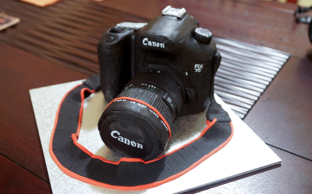 Canon Camera Cake By Whisk Us Away On Deviantart