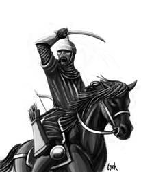 Seljuk Light Cavalry by Egek