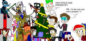Christmas Art Collab