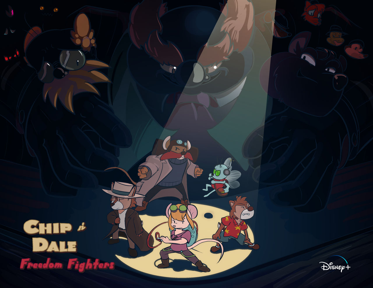 Chip and Dale: Rescue Rangers Reboot Poster
