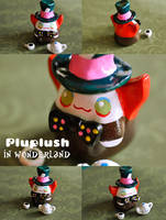 Pluplush mad hatter by Superpluplush
